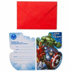 Avengers Invites pk8