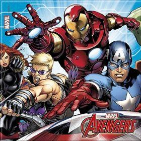 Mighty Avengers Napkins 2ply pk20