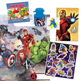 Avengers Pre Filled Party Bags