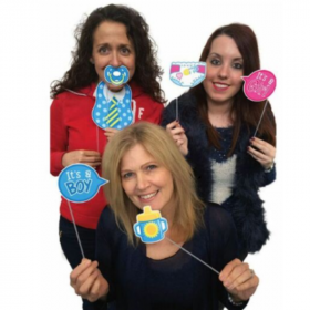 Baby Shower Photo Props, pk10