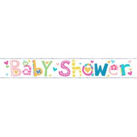 Baby Shower Wall Banner 9ft