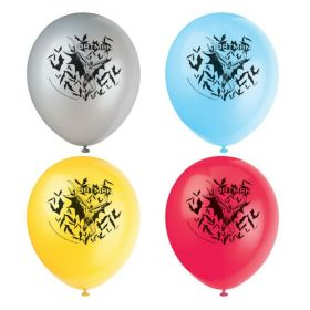 "Batman Party Latex Balloons 12"", pk8"