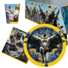 Batman Party Tableware Pack for 8