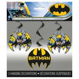 Batman Hanging Swirls