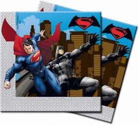 Batman vs Superman napkins
