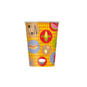 BBQ Party Cups 270ml, pk8