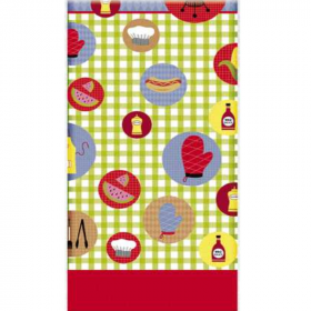 BBQ Party Tablecover 1.37cm x 2.13m