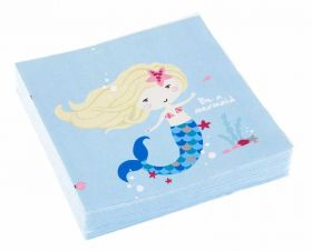 Be a Mermaid Luncheon Napkins, pk20