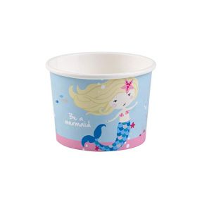 Be a Mermaid Paper Treat Cups 270ml, pk8