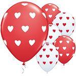 Big Hearts Latex Balloons 6pk
