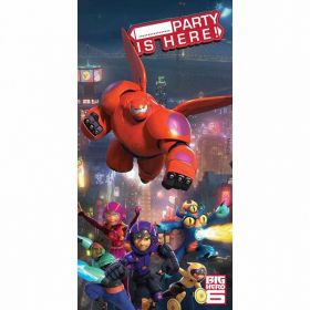 Big Hero 6 door banner