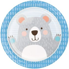 Birthday Bear Dinner Plates