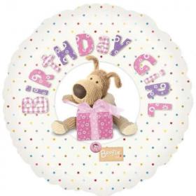 "Birthday Girl Boofle Foil Balloon 17"""