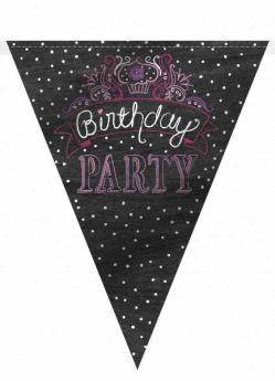 Sweet Birthday Girl 12ft Flag Banner