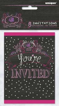 Sweet Birthday Girl Invitations