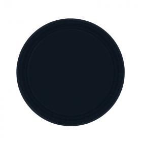 Black Dessert Plates
