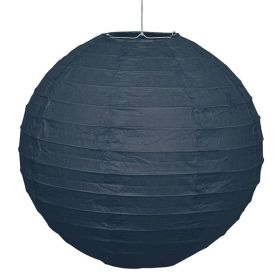 Black Round Lantern Party Decoration 25cm