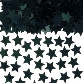 Black Star Shapes Confetti