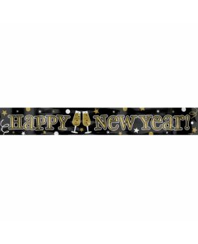 New Year's Illustrated Jumbo Letter Banner Combo Pack