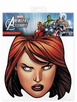 Avengers Black Widow Mask