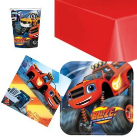 Blaze Party Tableware Packs