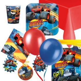 Blaze Party Supplies Kit
