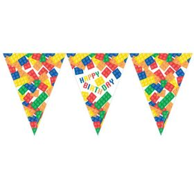 Block Party Happy Birthday Bunting 3.7m