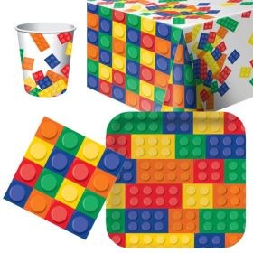 Block Party Tableware Party Pack