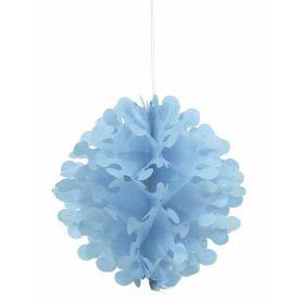 Blue Flutter Ball Decoration