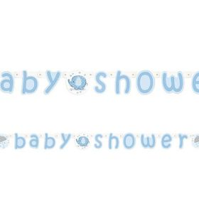 Blue Baby Shower Banners