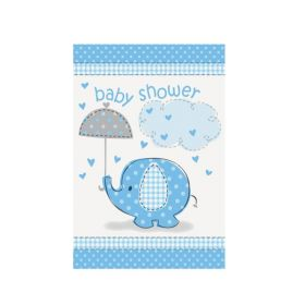 Blue Baby Shower Invitations