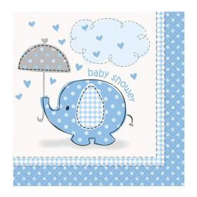 Blue Baby Shower Napkins