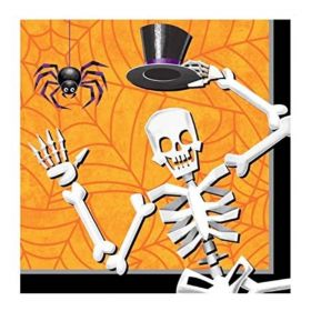 Boneyard Boogie Halloween Party Napkins