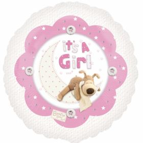 Boofle Baby Girl 18in Foil Balloon