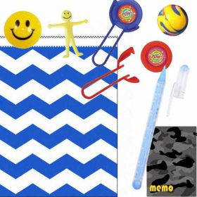 Boys Luxury Chevron Party Bag Ready to Fill