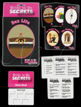 Bride To Be Secrets Revealed Hen Night Game