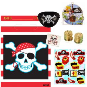 Budget Pirate Pre Filled Party Bags, one supplied
