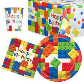 Building Block Party Tableware Packs