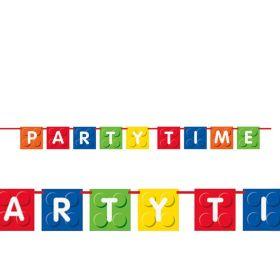 Brick Block Party Banner