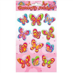 Butterfly Stickers ( 1 Sheet Supplied)
