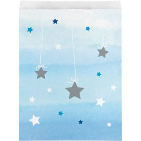 One Little Star - Boy Paper Treat Bags pk10