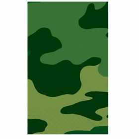 Camouflage Plastic  Party Tablecover