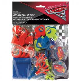 Disney Cars 3 Mega Value Favour Pack, pk48