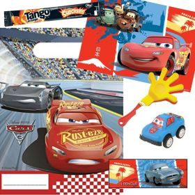 Filled Disney Cars Party Bags