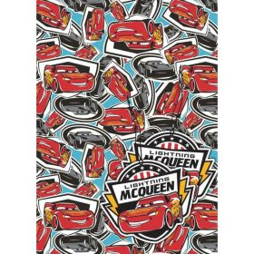 Disney Cars 3 Gift Wrap with 2 Tags