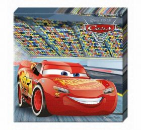 Disney Cars 3 Napkins pk20