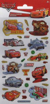 Disney Cars Foil Sticker Sheet