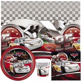 Disney Cars Silver Edition Party Pack For 8 including tableware and 8 filled party bags
