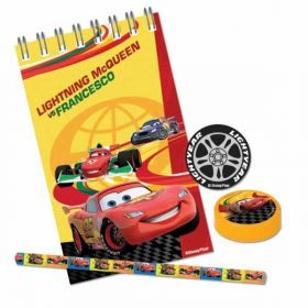 Disney Cars Stationery Favour Party Pack (20 Pieces)