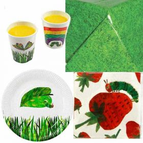 The Very Hungry Caterpillar Party Tableware Pack for 12